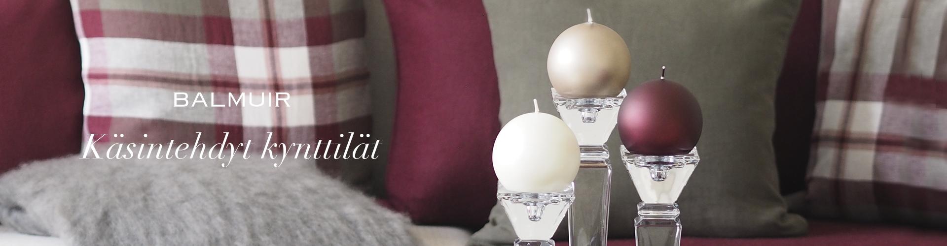 Käsintehdyt kynttilät