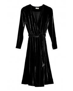 Vivian-kietaisumekko, S-XL, musta