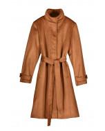Bernice coat, cognac
