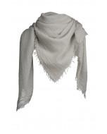 Aviano scarf, 140x140cm, light grey