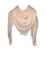 Aviano-villahuivi, 140x140cm, pale pink