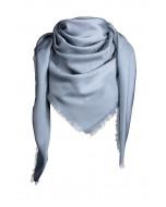 Capri-huivi, 140x140cm, stormy blue