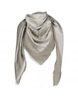 Capri scarf 140x140cm taupe