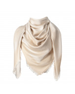 Capri scarf, 140x140cm, champagne