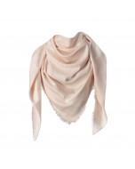 Capri scarf, 140x140cm, silver pink
