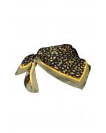 Fallon-huivi, 67x67cm, khaki