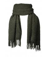 Freya scarf, 50x200cm, pine green