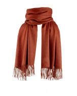 Highland-kashmirhuivi, rust (ruosteenpunainen)