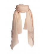 Mila-huivi, 70x195cm, pale pink