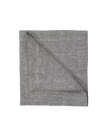 Pellavalautasliina, 45x45cm, tummanharmaa