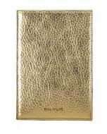 Passikotelo, nahka, gold metallic