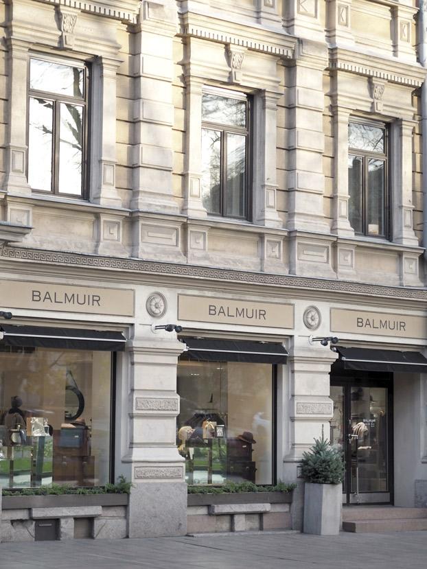 Balmuir Helsinki Brand Store